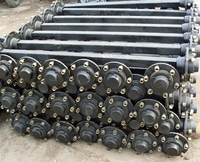 Use and trailer parts axles agriculture trailer axle for small parts