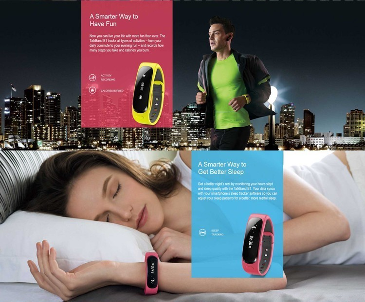 2016 New Activity monitor Sport Tracker Smart Wristband Bluetooth Bracelet For Iphone