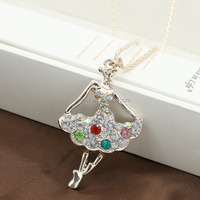 Fashion Rhinestone Long Clothing Accessories Women