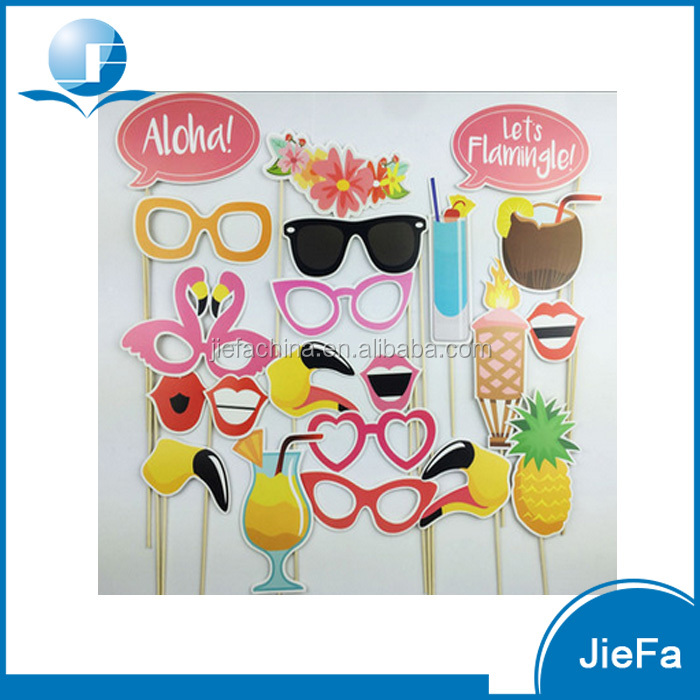 2016 New Design Summer Beach DIY Photo Booth Props
