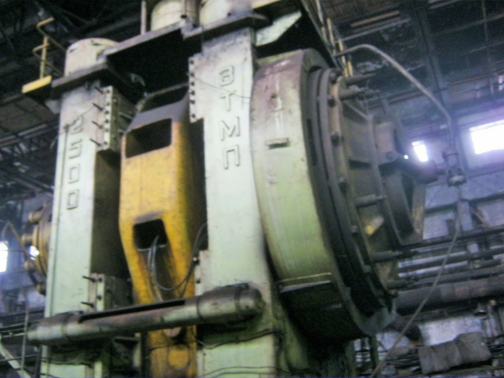 Hot Forging Mechanical Press, 2500 tons, TMP Voronezh, Russia