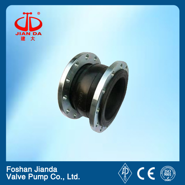 flange type single bellow rubber expansion joints
