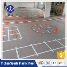 Good Quality and Wear Resisting Vinyl PVC Flooring For Gym