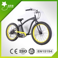 2015 New Products buy Fat 26Inch 500W 48V 13AH Li ion Battery Beach Electric Bicycle in China RSEB-505