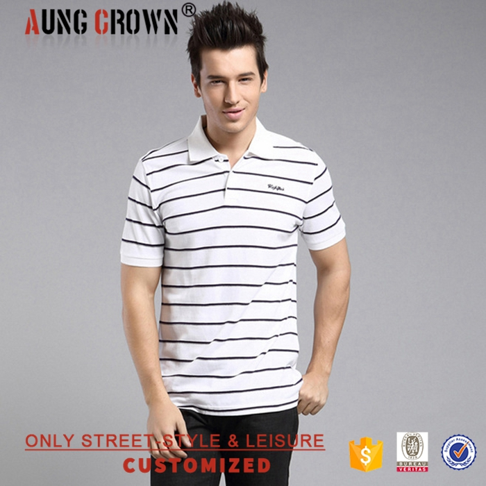 Summer Mens Soft Polo Tee Shirt Design Fashion Made In China