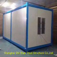 Low Cost Shed Roof Prefab Houses