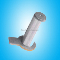 casting excavator pin, track pin press, collar pin