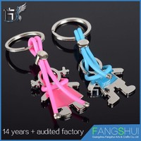Low moq Best selling a key chain with purse clip