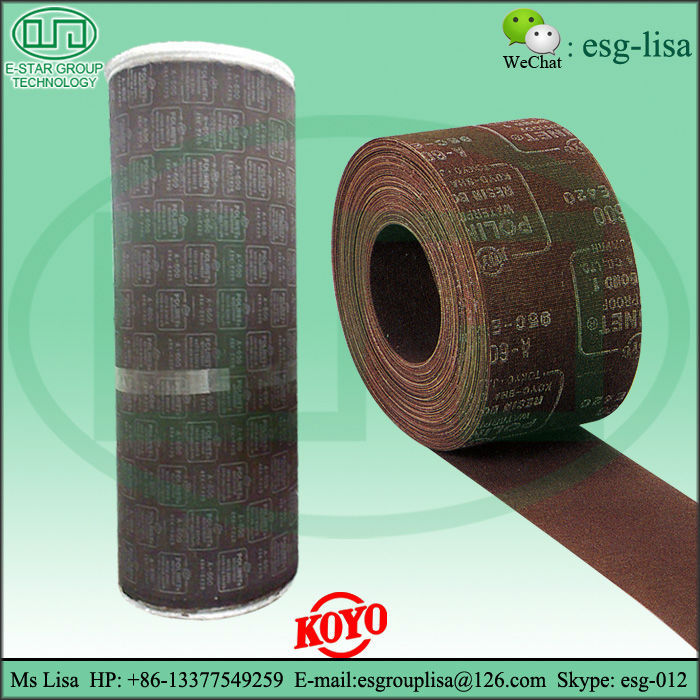 Japan POLINET Aluminum oxide waterproof mesh abrasive cloth roll