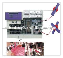 2012 Newly designed!Full automatic one time soft handle bag sealing machine, handle bag making machine