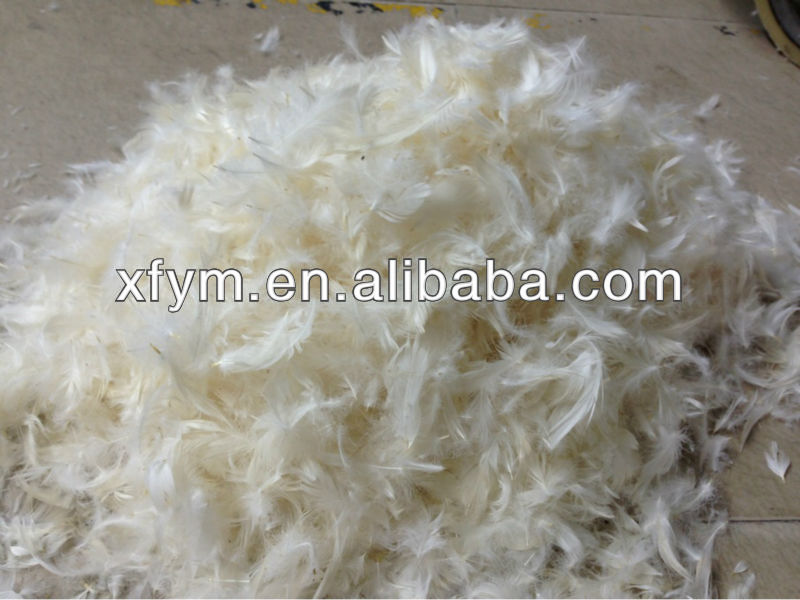 EN 12934 Washed White Goose Feather