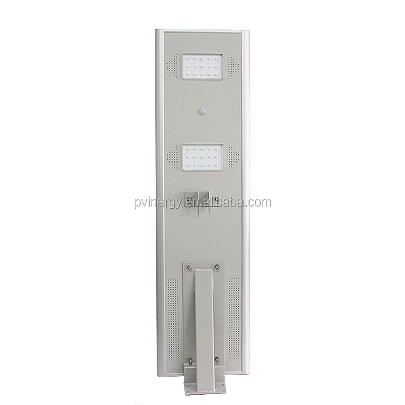 20w Ip65 Waterproof Outdoor High Power All In One Solar Led Street Light