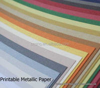 Printable and Excellently priced Cardstock Wholesale Metallic Paper Pearlescent Finish 120g 250g Single Double side coated