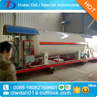 LPG dispensing Plant LPG storage tank 10MT