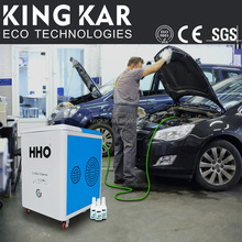 HHO carbon cleaner mobile steam car wash machine