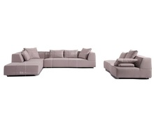 Italy design big house muebles modernos sectional upholstery sofa