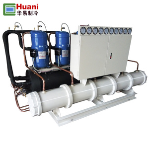 Water Cooled Water Chiller For Screw Compressor