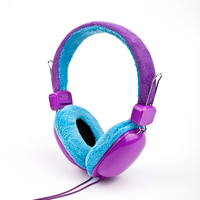 2015 Top quality best selling good quality sleeping style baby foam headphone