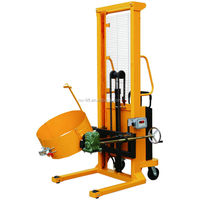 Hydraulic Electric Drum Lifting Stacker with Manual Tilting