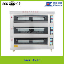 China manufacturer 1,2,3 decks Gas/Electric pizza oven