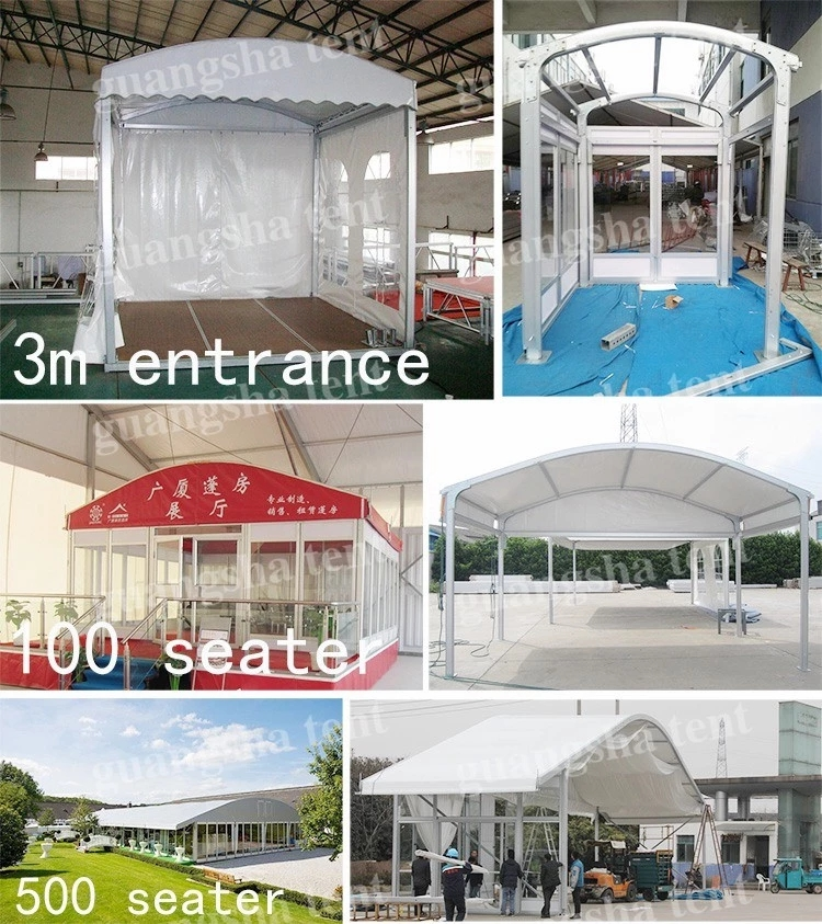 GSLH-20 20x50m large size wooden floor china wedding marquee