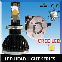 24w or 28w cree led Super Bright 5000k high quality H4led headlight