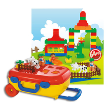 New Arrival China Factory Plastic Building Block For Children