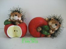 Hedgehog decoration for 2012 QY11-B007