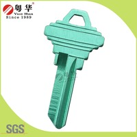 Factory price wholesale sales custom colorful Cylinder titanium key blank for key copy machine