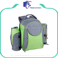 High quality canvas school bag and lunch bag set