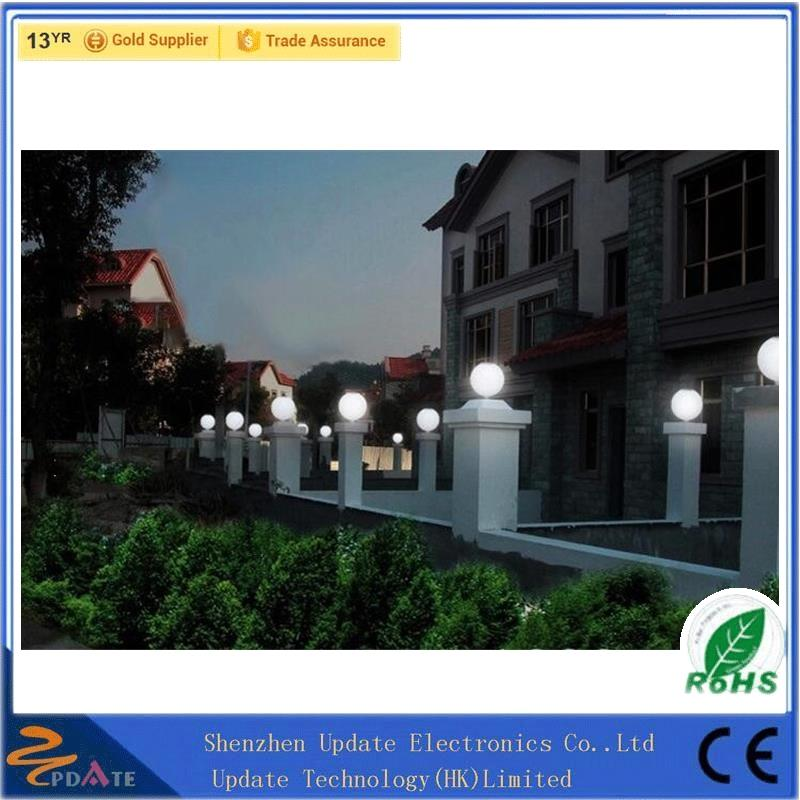 12 LED Solar pillar gate post Lights for garden, yard