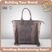 4021- 2016 exotic snake skin handbag wholesale genuine python handbag fashion tassel handbag