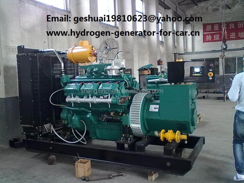 hydrogen generator, World's ONLY REAL Hydrogen H2 gas powered electricity generator set