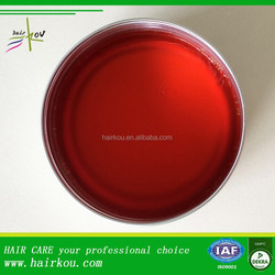 OEM hair styling hair wax red one oil paraffin strong hold water base pomade tins