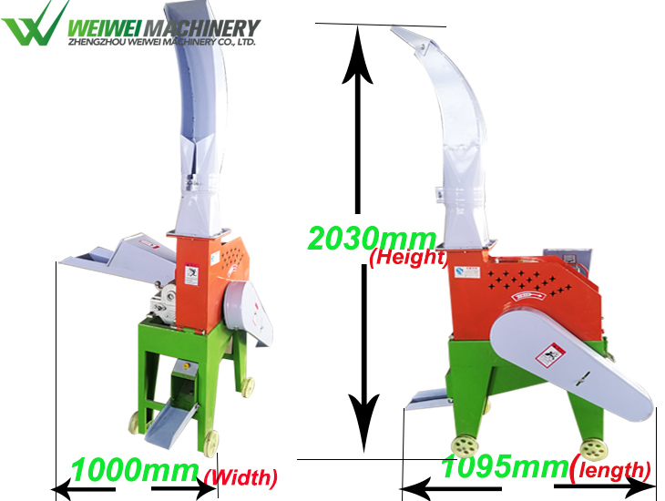 Small electric hay cutter machine for sale