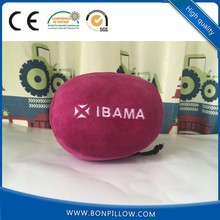 2018 New style U shaped travel half moon bolster memory foam neck pillow