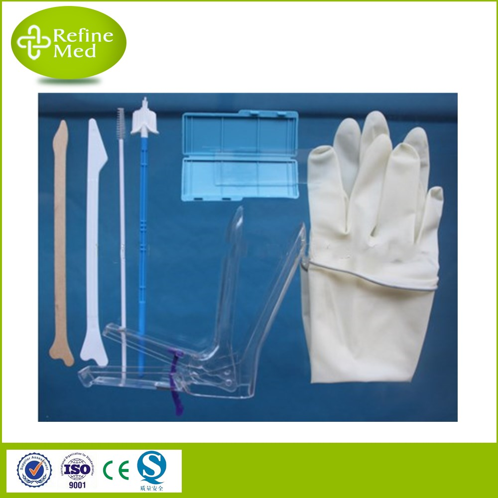 Different Settings High-quality Disposable Pap Smear Kit