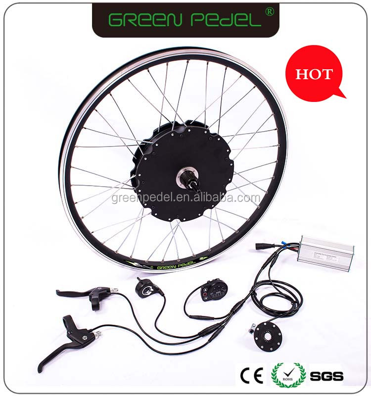 Greenpedel 48V 1000W ebike conversion kit ; PAS system electric bicycle kit 1000W