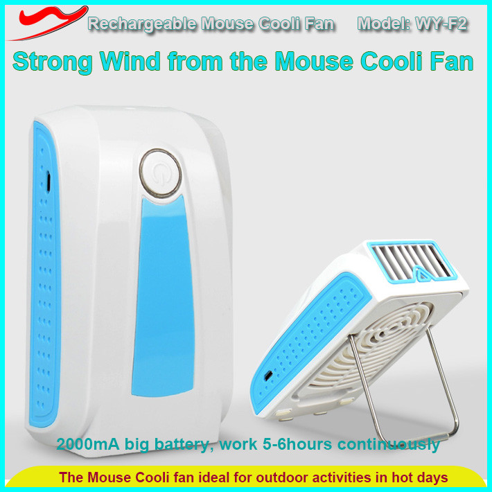 Summer cool sport gadget kits saving power working by battery mini fan