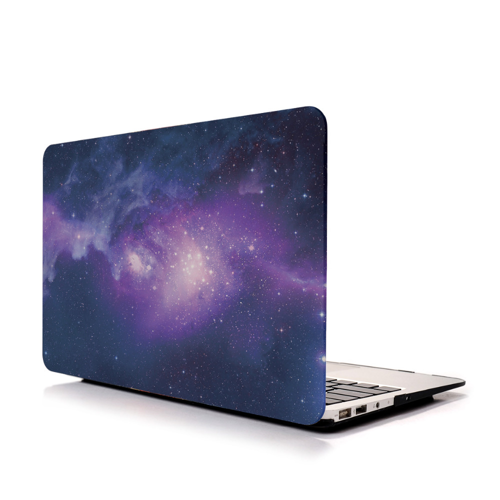 Galaxy Laptop Case for MacBook A1465/A1370, Star Pattern Design for Mac Hard Shell Cover