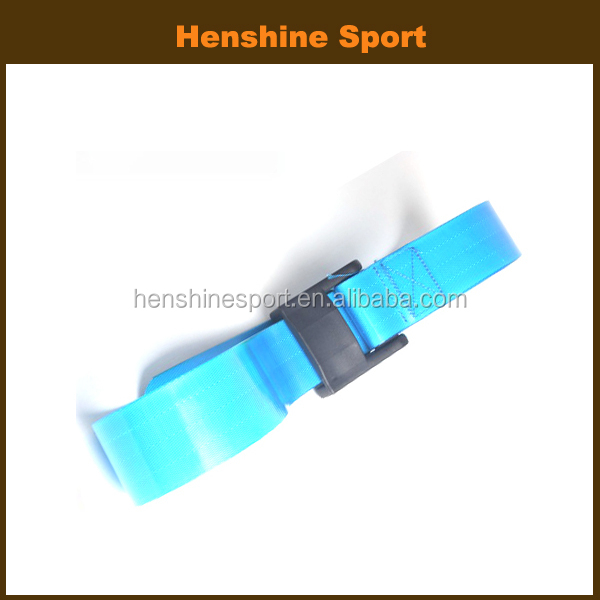 TPU coated webbing for medical safety belt