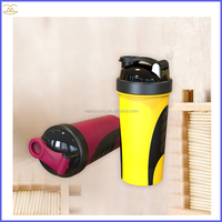 2016 700ml Plastic Smart Shaker With Netting And Container Bpa Free