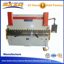 100 ton pressure hot selling used shearing press brake price,copper busbar bending machine for 3200mm