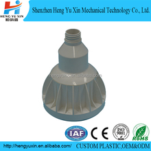2017 new design moulded plastic led lamp empty housing