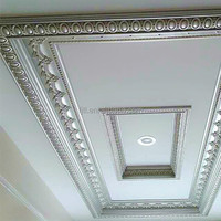 Factory sales pu/polyurethane decorative ceiling medallions molding