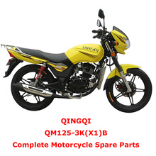 QINGQI QM125-3K(X1)B Complete Motorcycle Spare Parts