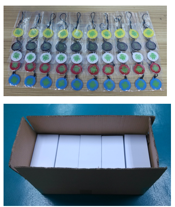 Customized Logo and Printing of Proximity RFID NFC Durable Smart Epoxy Tag For Access Control