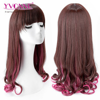 Hot Selling Products Yvonne Wholesale Colorful Synthetic Wig