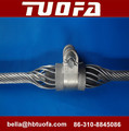 Tuofa preformed suspension clamp for ADSS cable