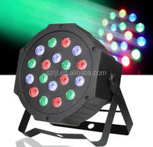 18*1W rgbw LED DMX512 Par Can Light DJ Stage Wedding Uplighting